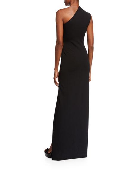 b0e3dd08b2 Solace London Averie One-Shoulder Maxi Dress