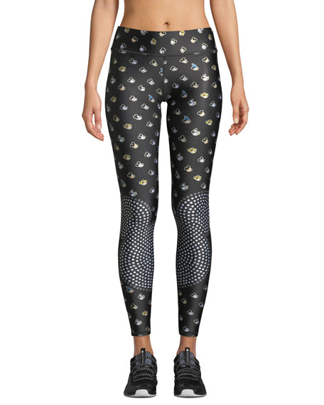 Terez THE MANY FACES OF MICKEY MOUSE® TALL BAND LEGGINGS