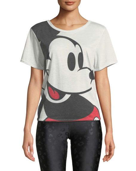 Terez LARGER THAN LIFE MICKEY MOUSE® CROSS-BACK TEE
