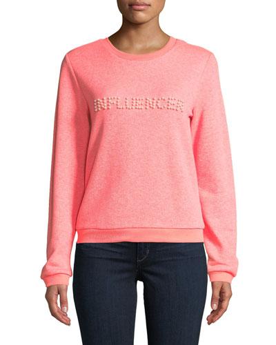 Influencer Pearl Sweatshirt