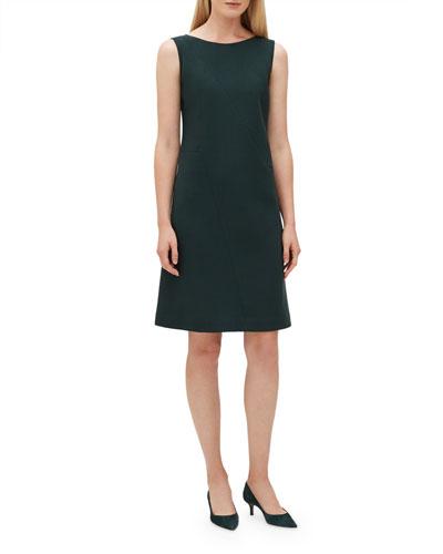 Laflora Wool Shift Dress