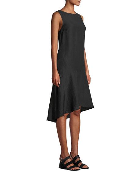 52a40d16cc Tommy Bahama Sleeveless Linen Flounce Coverup Dress