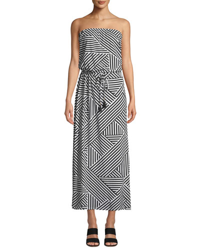 e45d0271a5bd Fractured Stripe Bandeau Maxi Dress Quick Look. Tommy Bahama