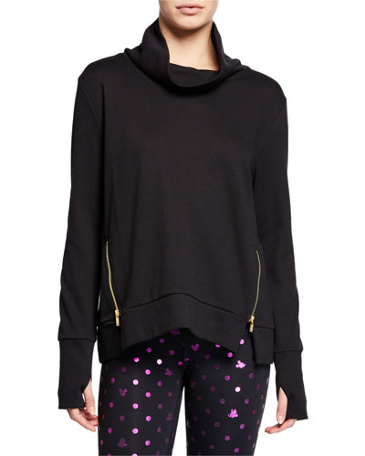 Clement Cowl-Neck Active Sweater