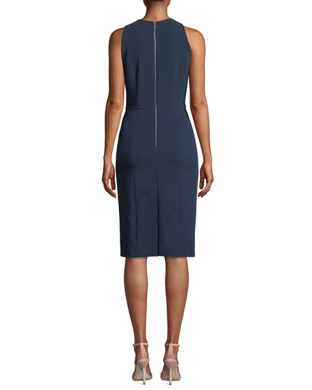 Cora Fitted Sleeveless Dress