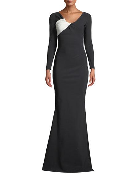 Chiara Boni La Petite Robe Bilgi Long-Sleeve Jersey