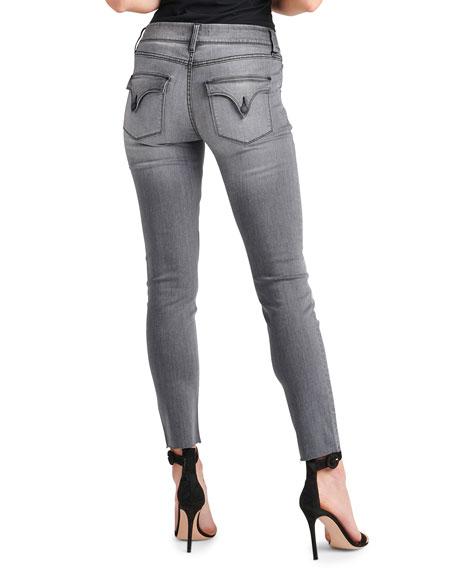 Collin Raw-Hem Ankle Skinny Jeans