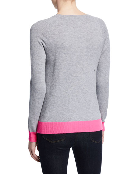 Apres Ski Wool-Cashmere Pullover Sweater
