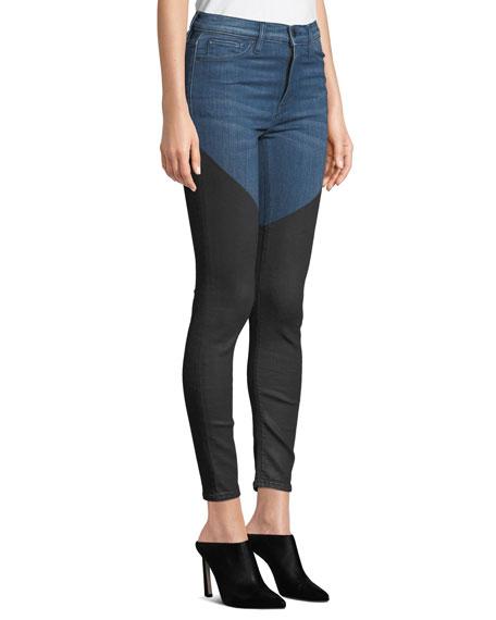 Barbara High-Rise Super Skinny Ankle Jeans