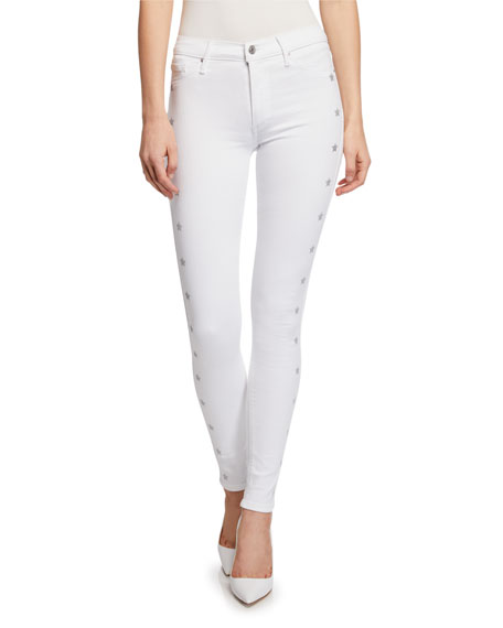 Black Orchid Gisele High-Rise Super Skinny Jeans with