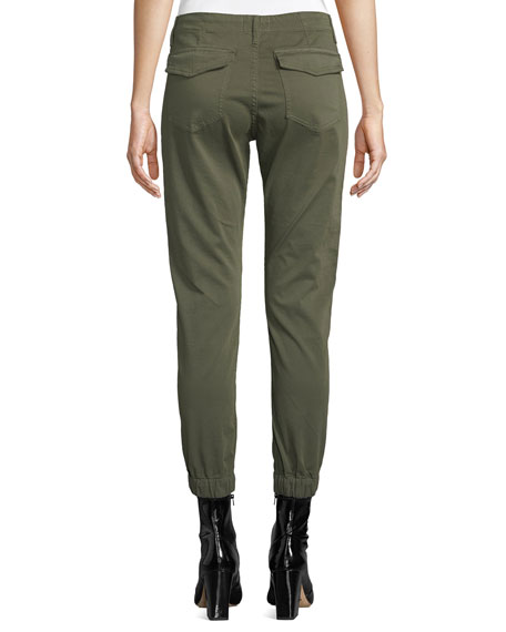 100% satisfaction guarantee buy outlet sale Noel Cropped Military Jogger Pants