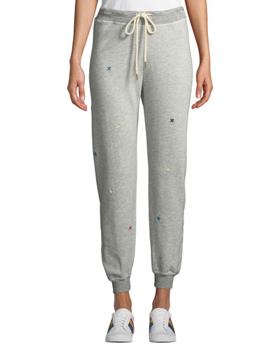 The Cropped Drawstring Sweatpants