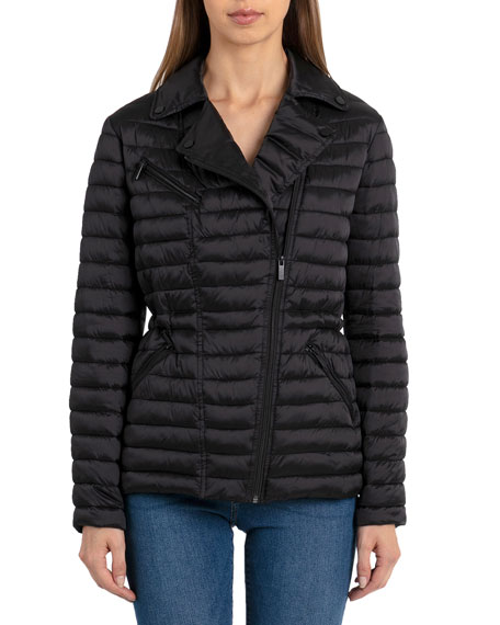 Badgley Mischka Downs MIA QUILTED PUFFER JACKET