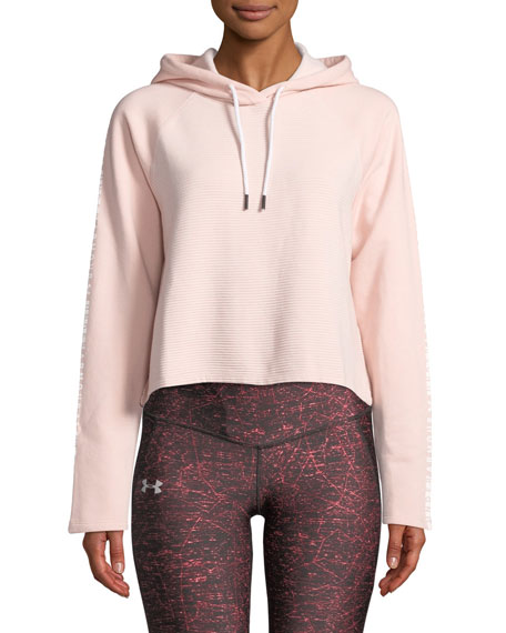 Under Armour Cottons MICROTHREAD FLEECE CROPPED HOODIE