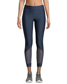 Anklette Mesh Cropped Leggings by Under Armour