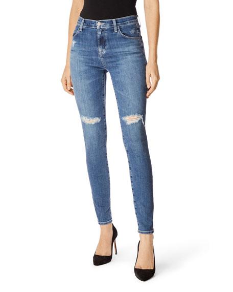 f11f45bb343 J Brand Maria High-Rise Skinny Jeans