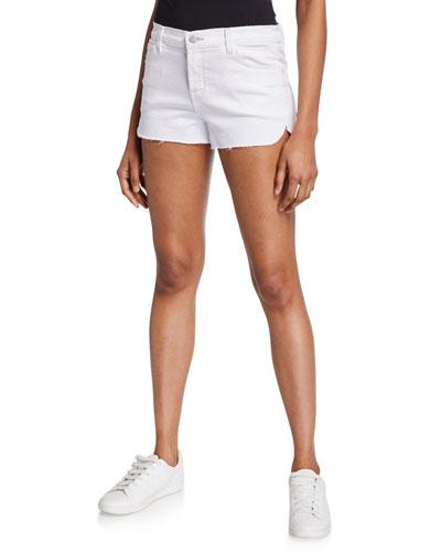 1044 Mid-Rise Denim Shorts