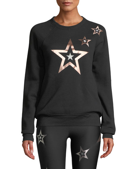 Ultracor POP STAR PRINTED BOYFRIEND PULLOVER SWEATSHIRT