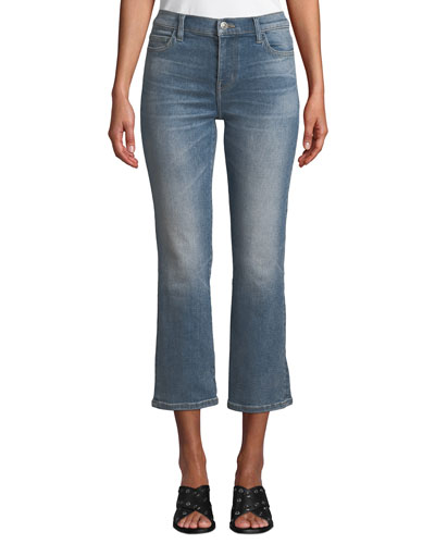 The Kick Cropped Flare-Leg Jeans