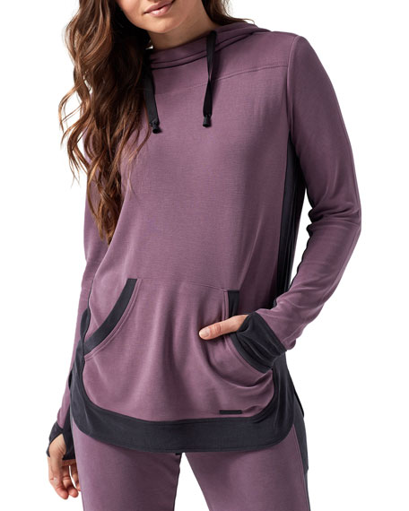Blanc Noir Tops AMOUR ACTIVE PULLOVER HOODIE