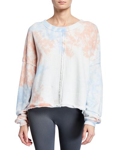 Matya Tie-Dye Swing Sweatshirt