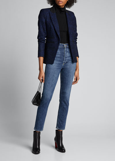 Nico Slim-Fit High-Rise Jeans