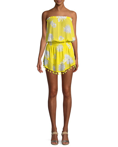 Marcie Printed Coverup Dress