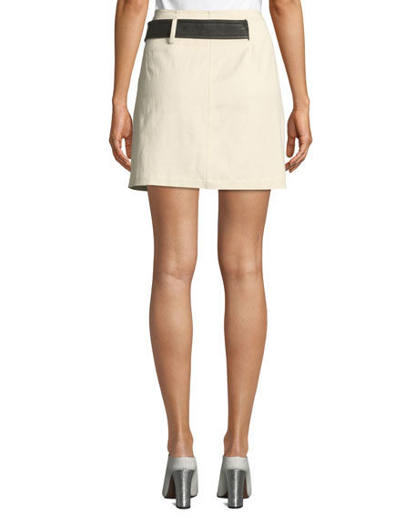 Cami Belted Wrap Skirt