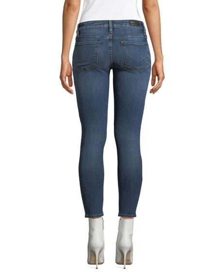 Krista Distressed Skinny Ankle Jeans