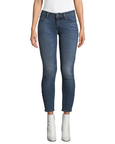Hudson Krista Distressed Skinny Ankle Jeans