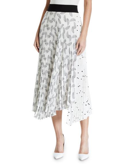 A.l.c Skirts GRAINGER PLEATED SKIRT