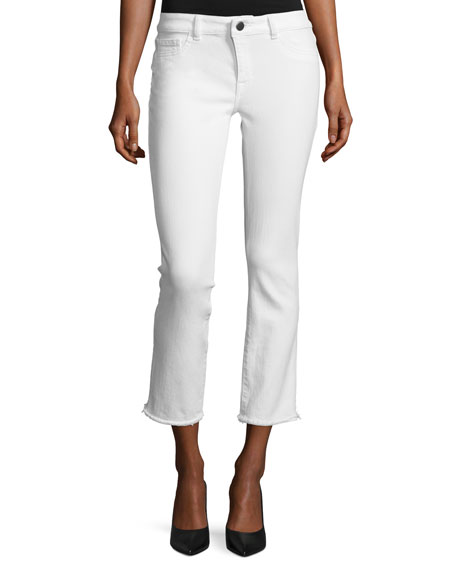 DL1961 Premium Denim Mara Instasculpt Ankle Straight Jeans,