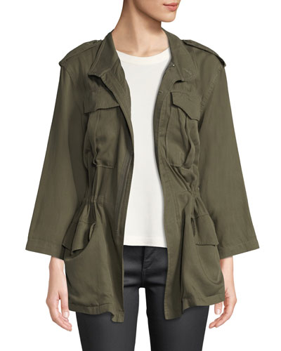 Beekman Zip-Front Utility Jacket