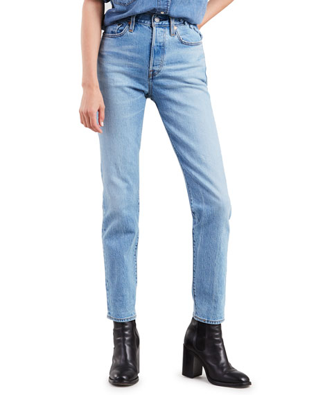 Levi's Jeans WEDGIE ICON FIT MID-RISE STRAIGHT-LEG JEANS