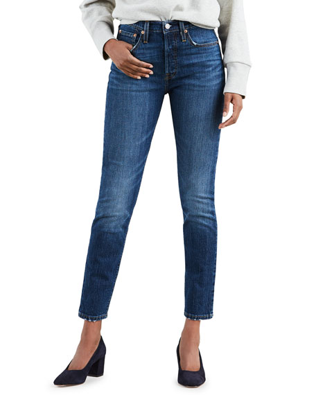 501 Mid-Rise Ankle Skinny Jeans