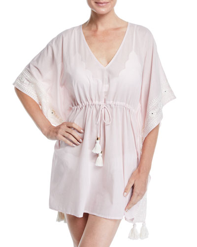 Ravena Embroidered Coverup Caftan