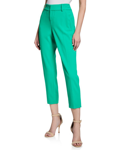 Stacey Slim Straight-Leg Trousers