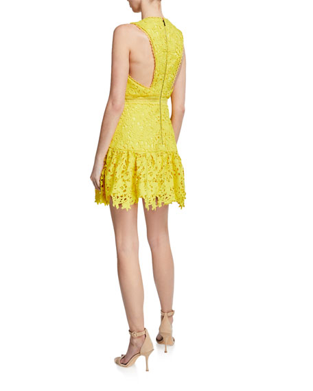 Marleen Gathered Fit-&-Flare Dress