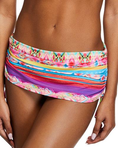 Isabella Cinched Skirted Bikini Bottom