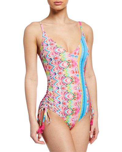 Francesca Printed One-Piece Swimsuit