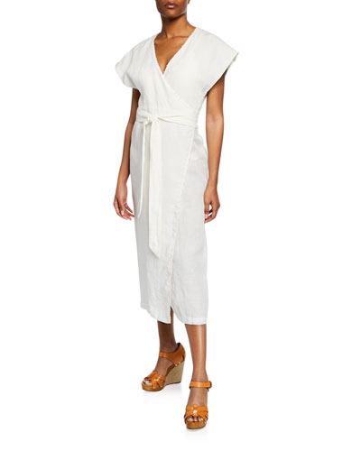 Watermill Coverup Wrap Dress