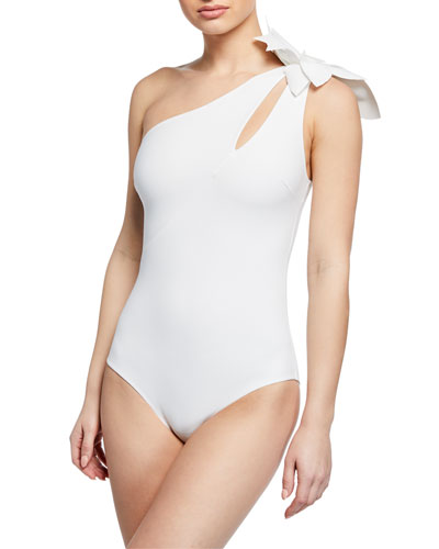 Irama One-Shoulder One-Piece Swimsuit with Cutout Detail