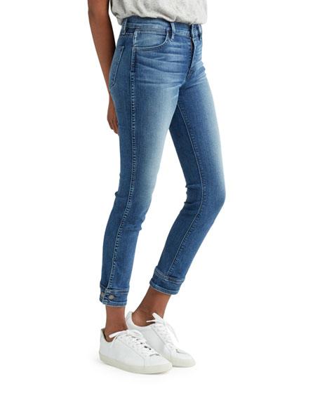 Nico Mid-Rise Cigarette Crop Jeans