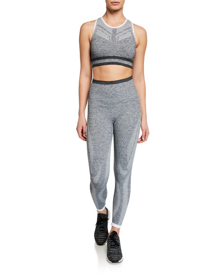 Tone Marled 7/8 Performance Leggings