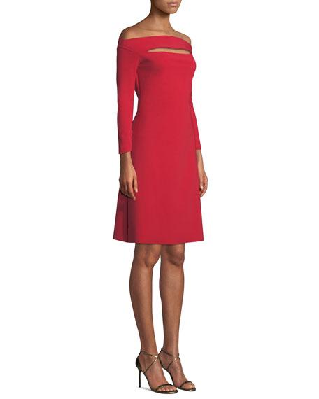 Palomina Slit Off-the-Shoulder Dress