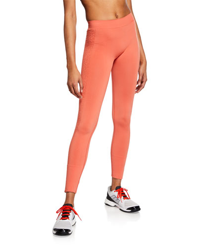 ec251a750d95da Seamless High-Rise Running Tights Quick Look. adidas by Stella McCartney