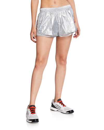 Metallic Running Shorts