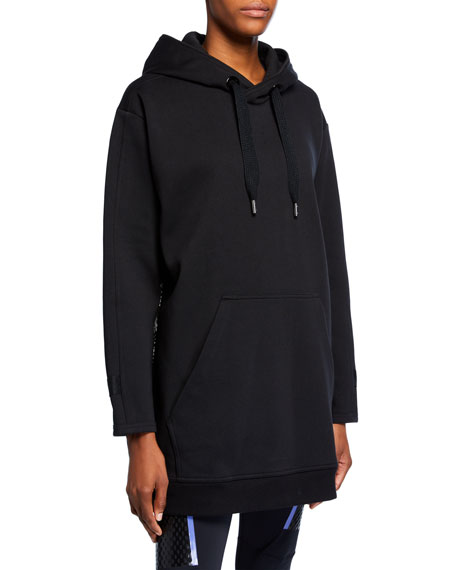 adidas by Stella McCartney Oversized Pullover Hoodie w/