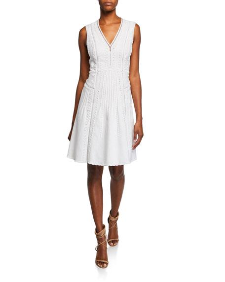 Kobi Halperin Mimi V-Neck Sleeveless Dress
