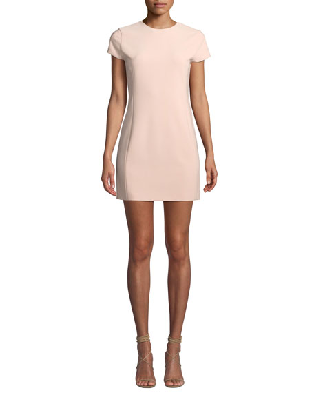 Colin Crewneck Fitted Dress